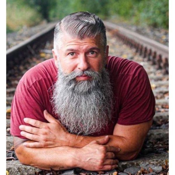Executive Cut With Massive Beard
