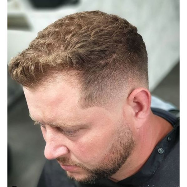 Fresh Fade with Textured Top