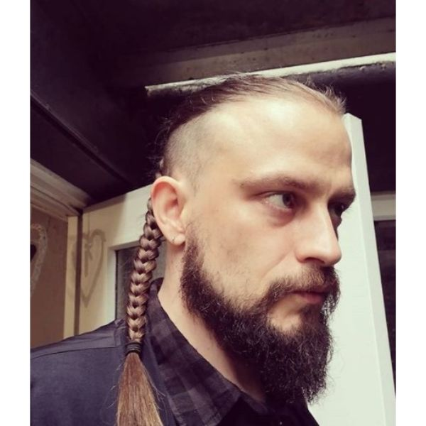 High And Tight Cut with Tight Braid