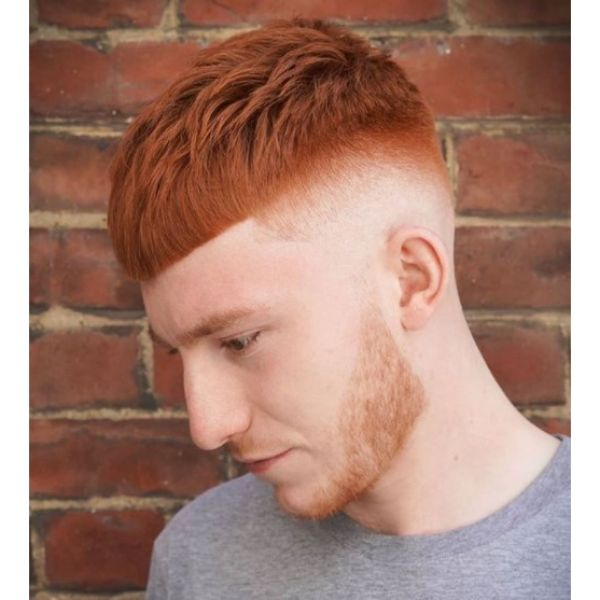 Low Fade For Ginger Hair