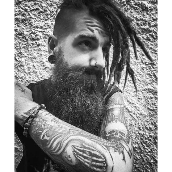 Metal Viking Hairstyle