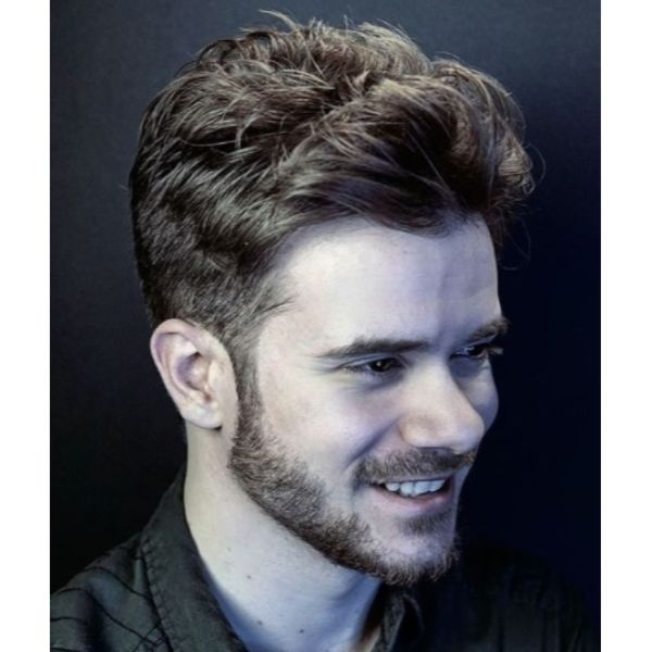 Shaggy Messy Flow Haircut Low Maintenance Haircuts For Men