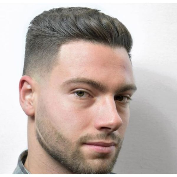 Short Hairstyle Low Maintenance Haircuts For Men