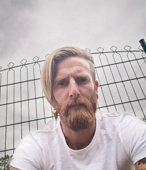 Side-swept Undercut with Viking Beard