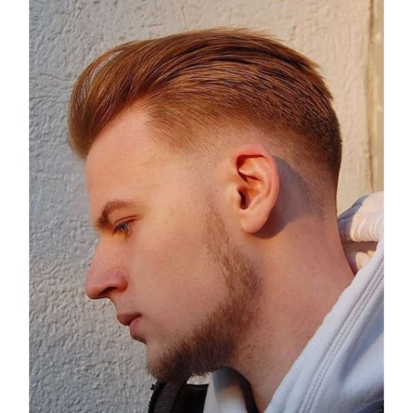 Slick- back Hairstyle For Men