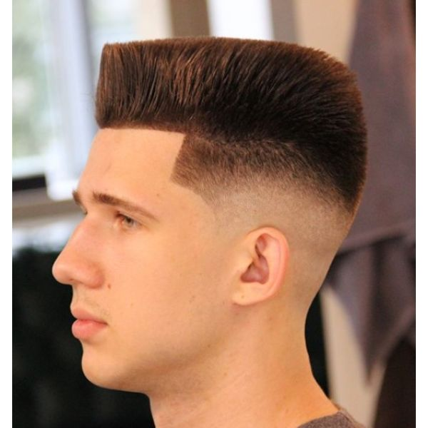 Spiky Hi-Top Low Maintenance Haircuts For Men
