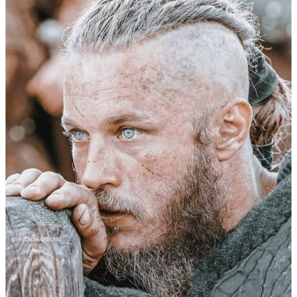 Twisted Braids Viking Hairstyle For Men
