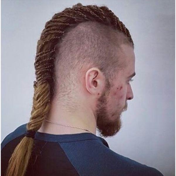 Viking Style Mohawk