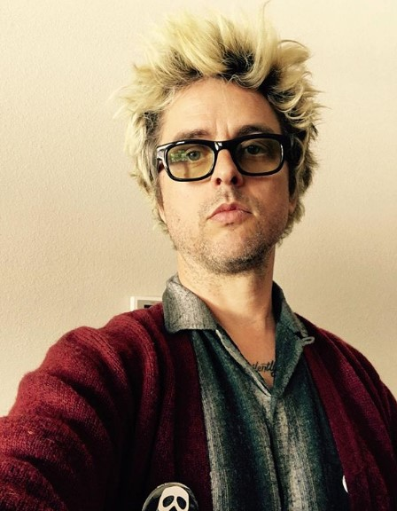 Blonde Spiky Hairstyle with Dark Strands punk hairstyles for guys