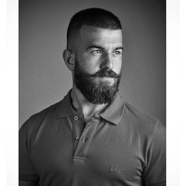 Buzz Cut Hairstyle For Straight Hair