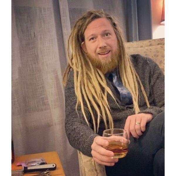 Classy Blonde Dreadlocks dreadlock styles for men