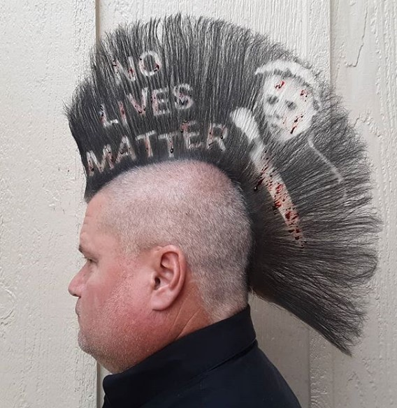 Halloween Punk Hairstyle punk hairstyles for guys