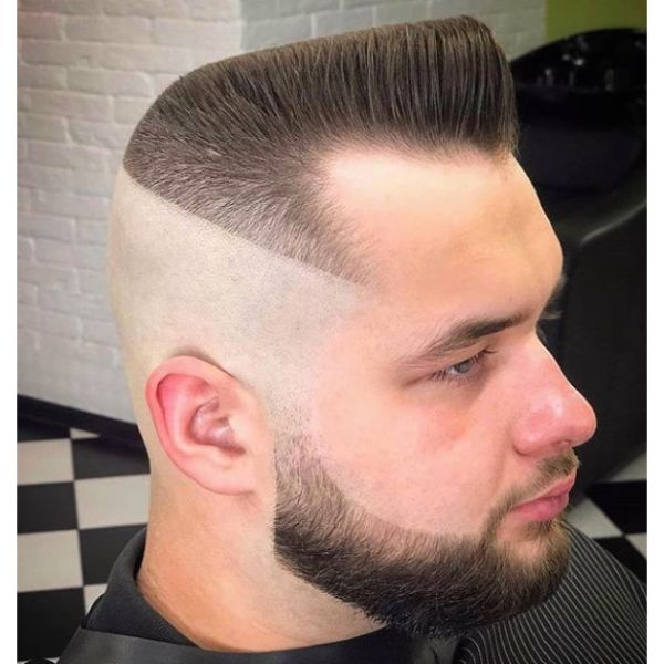 High Fade with Flattop Hairstyle