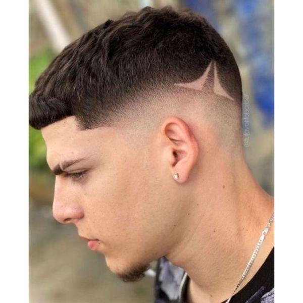 Low Fade With Textured Top Hairstyle
