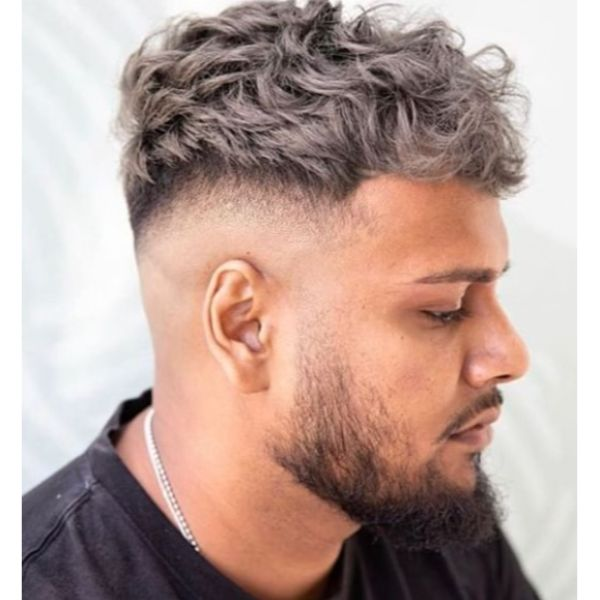 Low Fade with Spiky Top