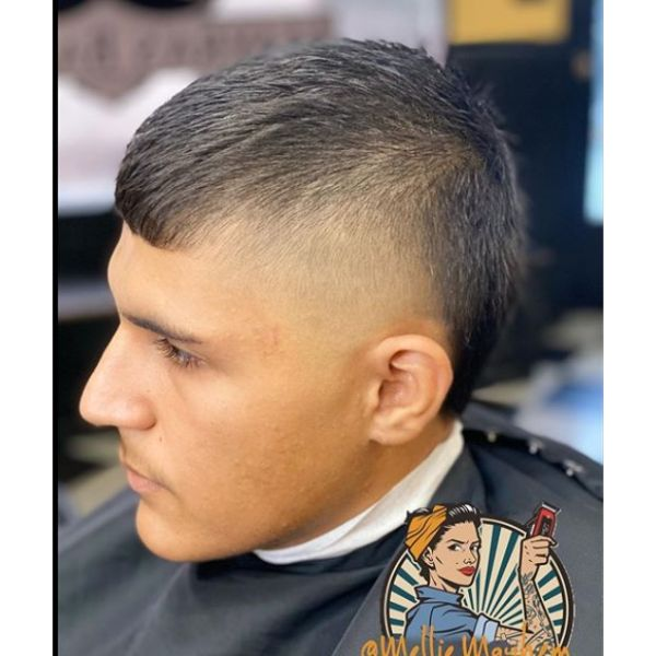 Low Mullet Fade