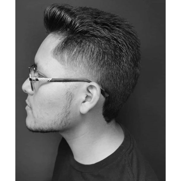 Mullet Flattop Hairstyles For Men With Straight Hair