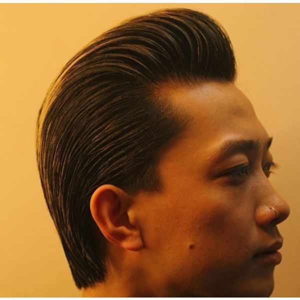 Pompadour Hairstyles For Men With Straight Hair