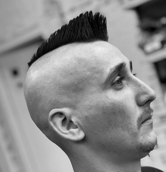 Psycho Billy Punk Hairstyle punk hairstyles for guys