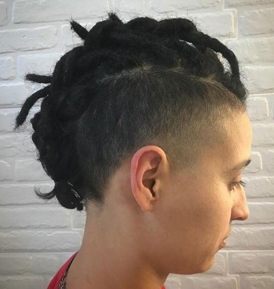 Rasta Punk Braided Mohawk Hairstyle punk hairstyles for guys