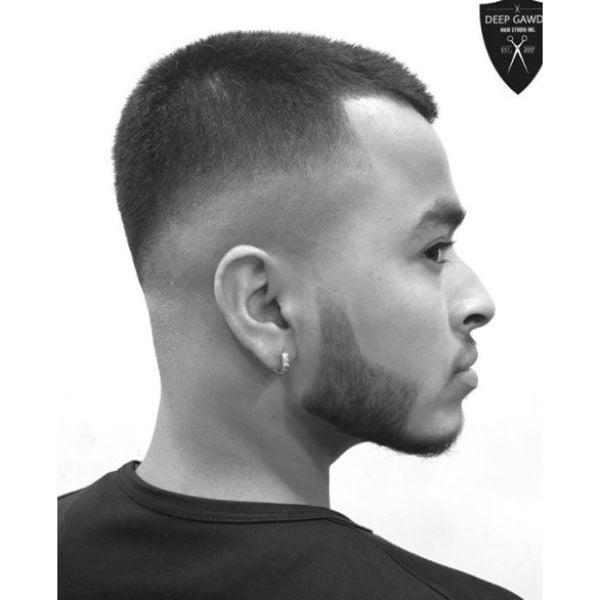Skin Fade Haircut For Straight Hair