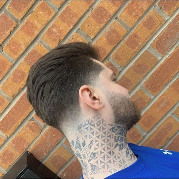 Tight Taper Fade Hairstyles For Men With Straight Hair