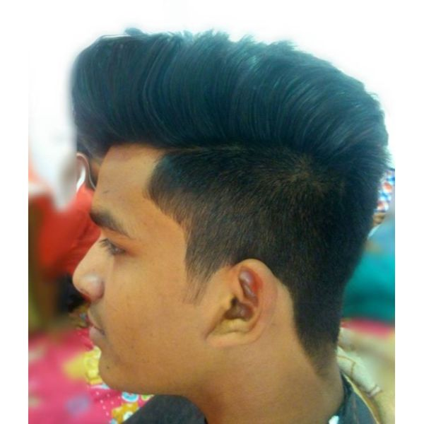 Undercut Hairstyles For Men with Straight Hair