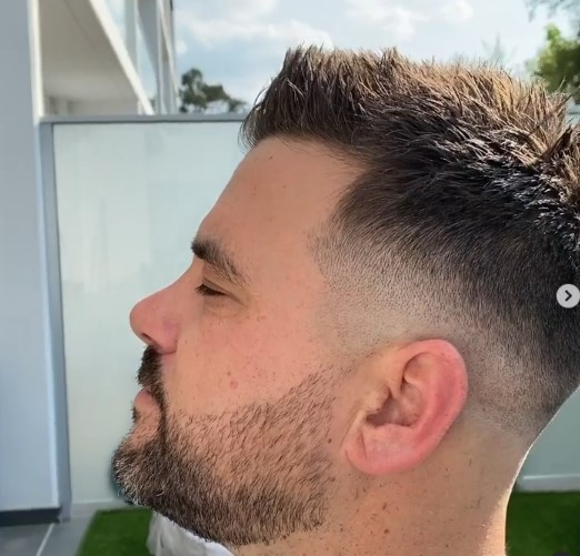 Skin Fade with Short Spiky Top