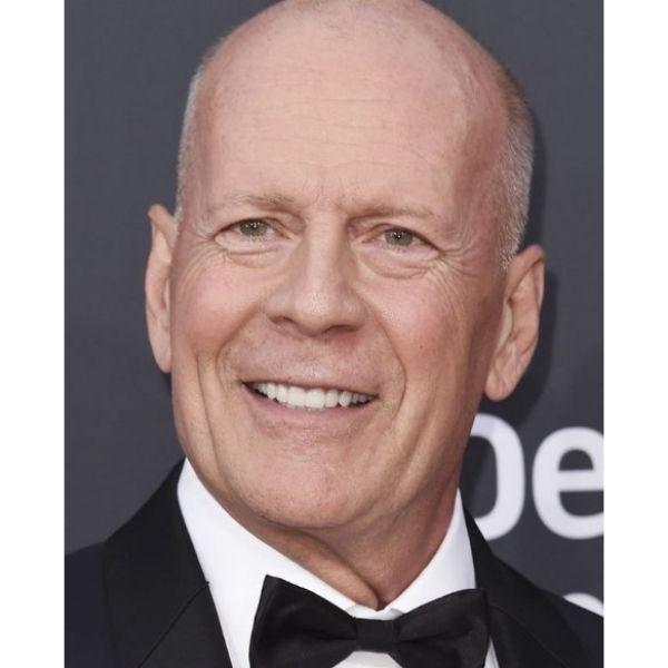 Bruce Willis Zero Fade Hairstyle