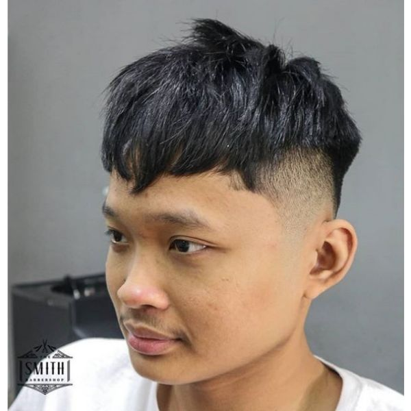Chopped Caesar Cut Hairstyle