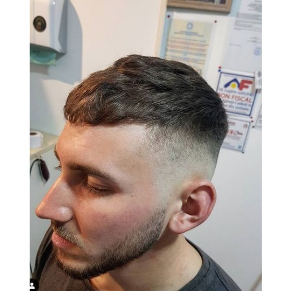 Crop Skin Fade Hairstyle