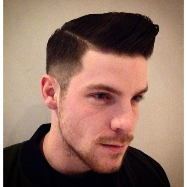 Executive Haircut with Johnny Bravo's Spiky Top