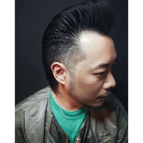 Extra Wavy Pomp With Side Fade