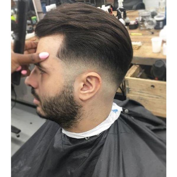 Gradual Fade with Flowy Haircut
