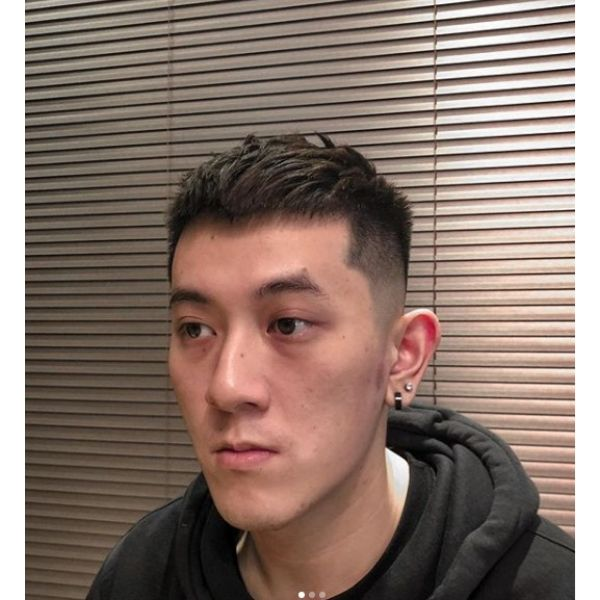 High Fade Man Hairstyle