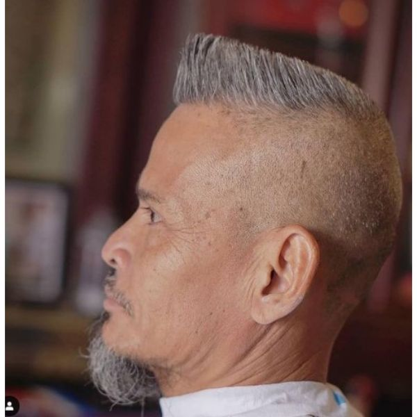 High Flattop With Skin Fade Hairstyle 1950s mens hairstyles