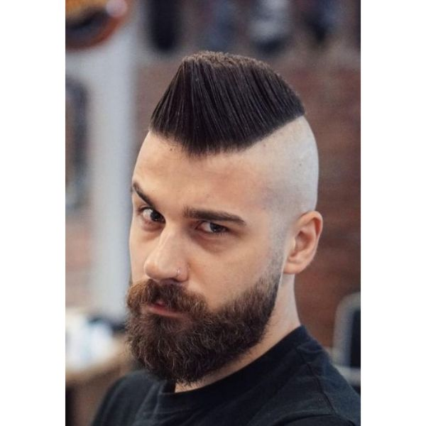 High Flattop with Skin Fade 1950s mens hairstyles