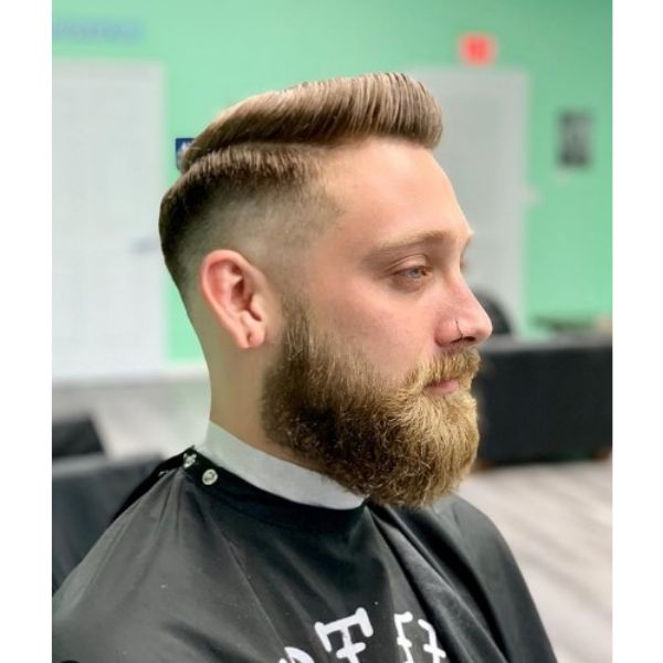 Skin Fade Pomp Hairstyle