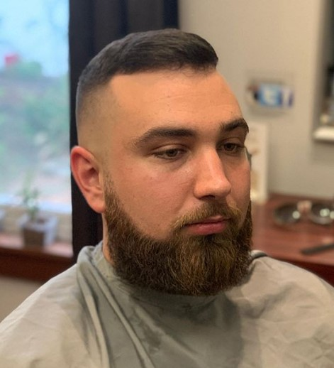 Skin Fade with Bald Fade Hairstyle