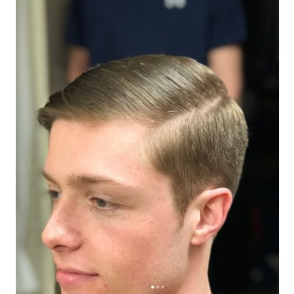 Skin Fade with Short Taper Haircut 1950s mens hairstyles