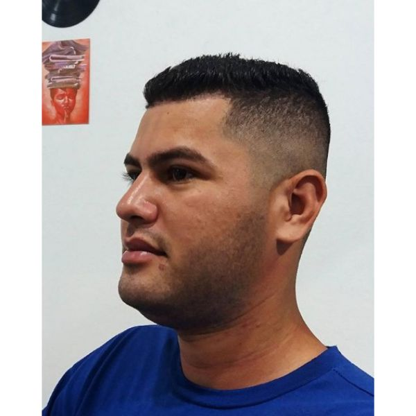 Skin Fade with Short Top Hairstyle