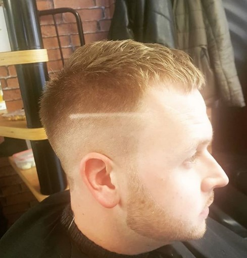 Skin Fade with Textured Top Hairstyle