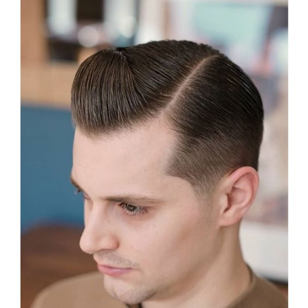 Sleek Executive Hairstyle For Men With Straight Hair