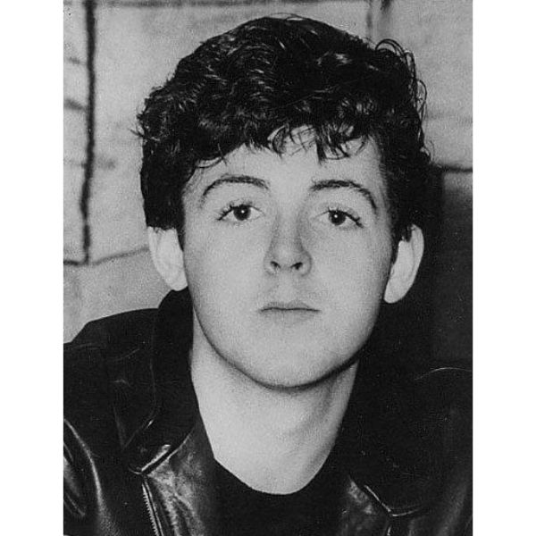 Teddy Boy Hairstyle For Paul Mcartney Hairstyle