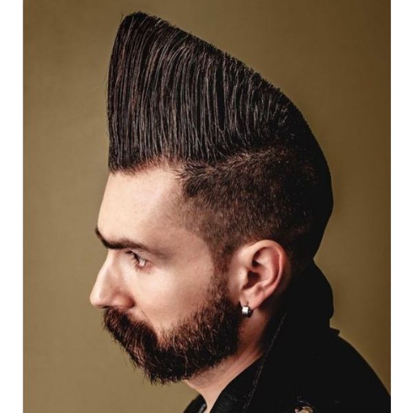Ultra-high Flatop Hairstyle 1950s mens hairstyles