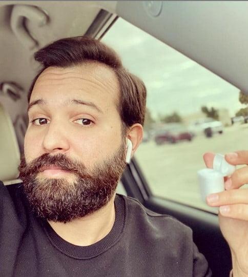 Bushy Scruffy Beard For Diamond Shaped Face