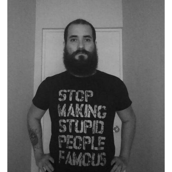 Full Beard With Long Mustache