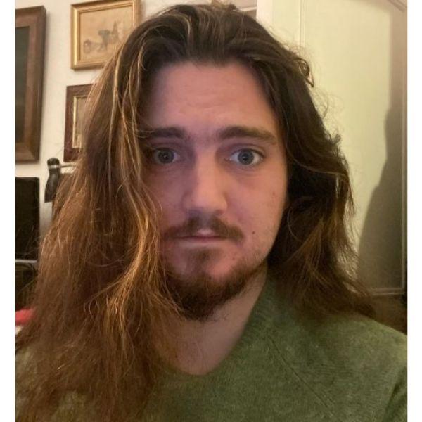 Goatee Beard With Longer Hair