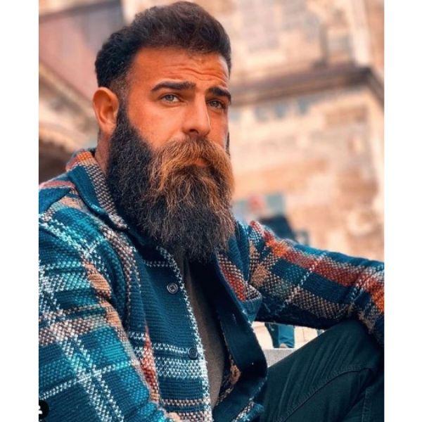 Long Beard With Long Mustache
