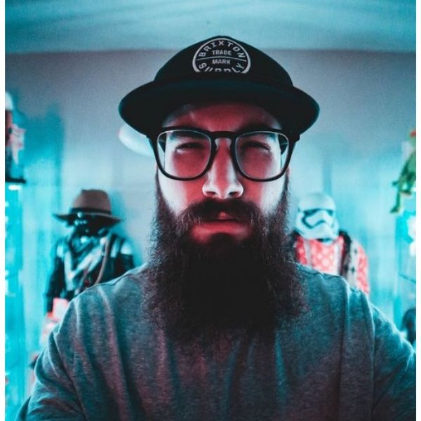 Long Hipster Full Beard Shapes